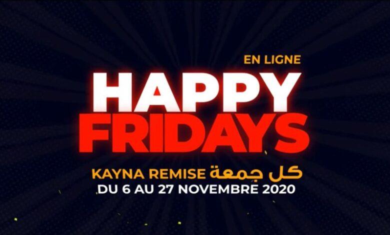 Happy Friday Uniquement en ligne chez Planetsport du 6 au 27 Novembre 2020