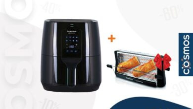 Soldes Cosmos Electro Friteuse + Toaster TAURIS 1499Dhs au lieu de 1799Dhs