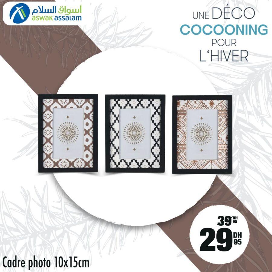 Soldes Aswak Assalam Cadre Photo 10x15cm 29Dhs au lieu de 39Dhs