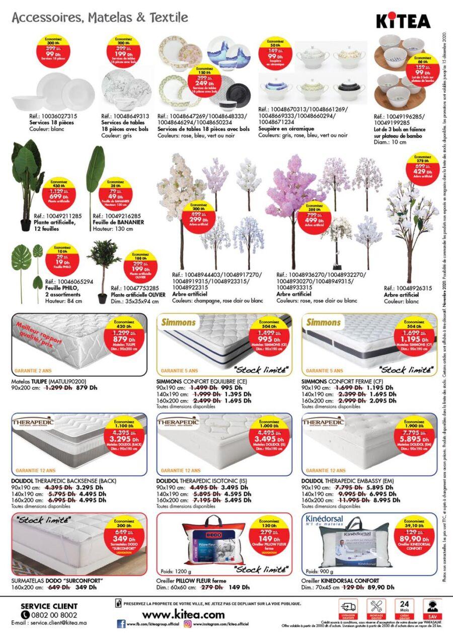 Catalogue Kitea Soldes 2020 du 2 Novembre au 15 Décembre 2020