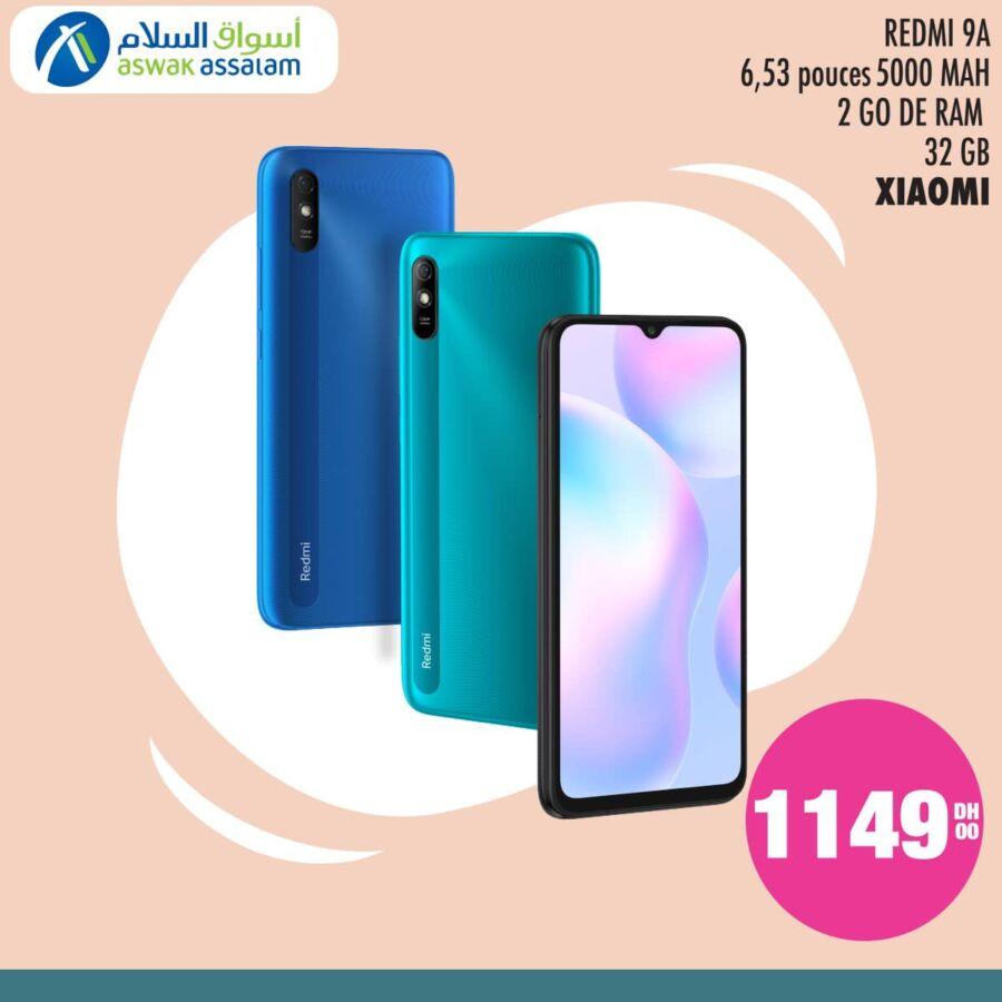 Les Smartphones Xiaomi débarquent chez Aswak Assalam à partir de 1149Dhs