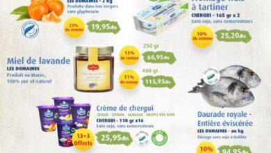 Catalogue Les Domaines Agricoles offres santé et fidélité du 15 au 30 Novembre 2020