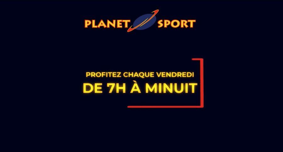Happy Friday Uniquement en ligne chez Planetsport du 6 au 27 Novembre 2020