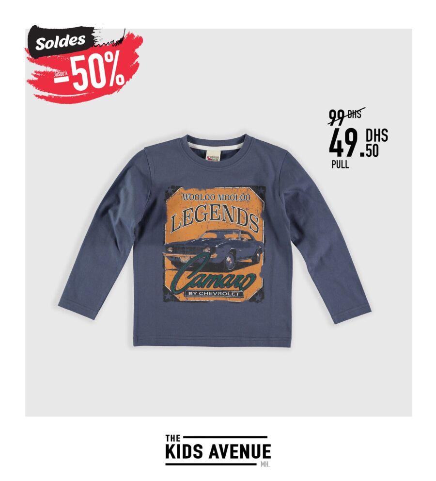 Soldes Kids Avenue à Mito Home -50% pour les enfants de 3mois à 16ans
