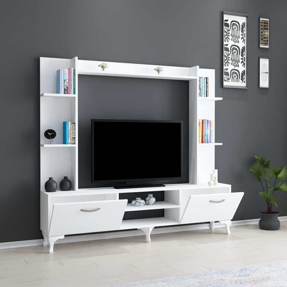 Soldes Azura Home Ensemble meuble TV RANY 1296Dhs au lieu de 1906Dhs