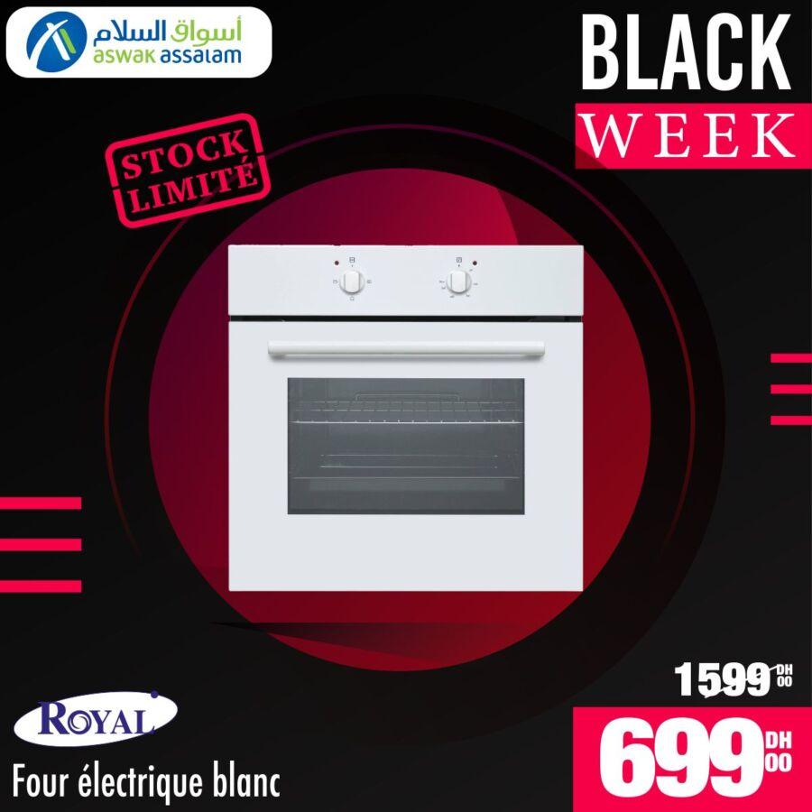 Black Week Aswak Assalam Four électrique ROYAL 699Dhs au lieu de 1599Dhs