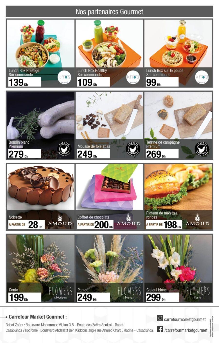 Catalogue Carrefour Gourmet L'instant Festif du 20 Novembre au 10 Décembre 2020