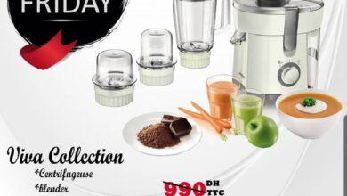 White Friday Tangerois Viva Collection PHILIPS 590Dhs au lieu de 990Dhs