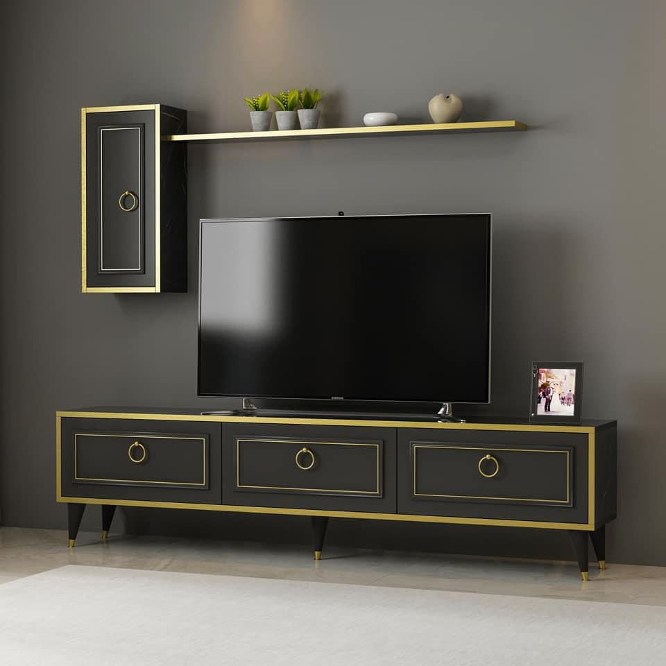 Soldes Azura Home Ensemble meuble TV VALS 1490Dhs au lieu de 2327Dhs