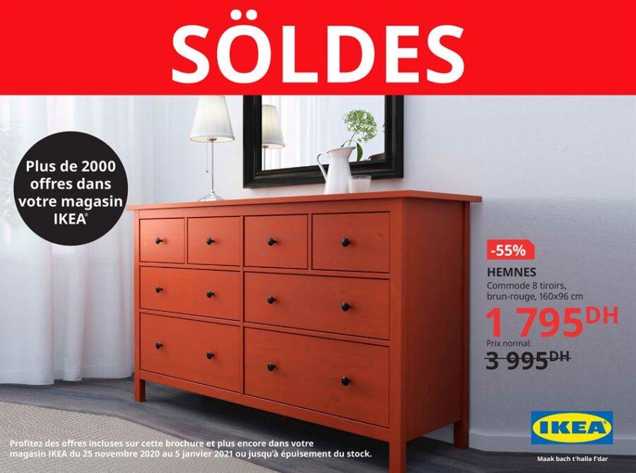 Catalogue Ikea Maroc Spécial Saison des SOLDES Jusqu'au 5 Janvier 2021