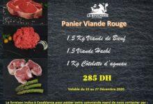 Promo Spécial Panier Viande rouge chez La Boucherie de la ferme 285Dhs au lieu de 325Dhs