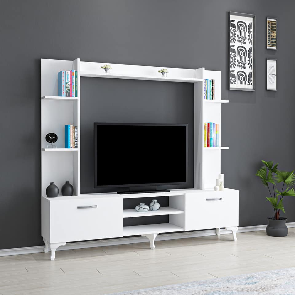 Soldes Azura Home Ensemble meuble TV RENA 1090hs au lieu de 1906Dhs