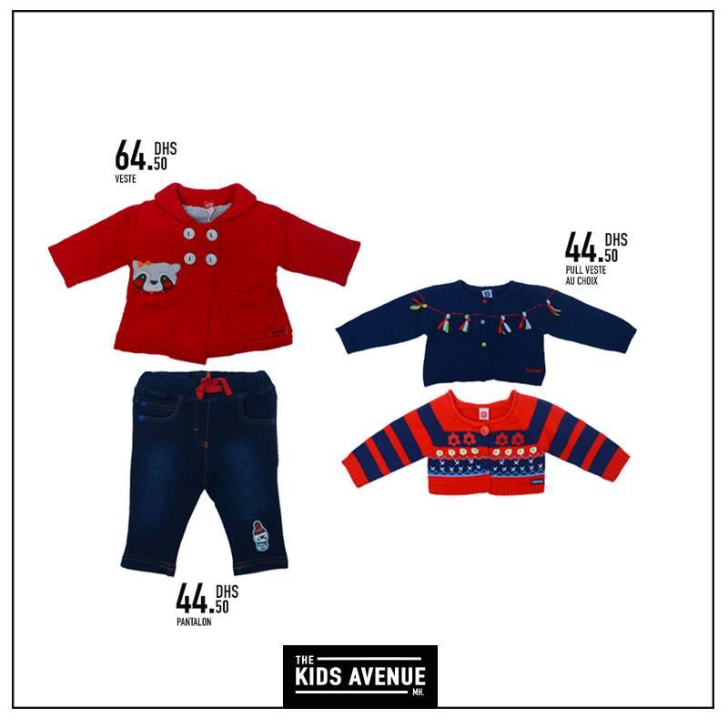Promotion collection des bébés de 3mois à 2 ans chez Kids Avenue à Miro Home