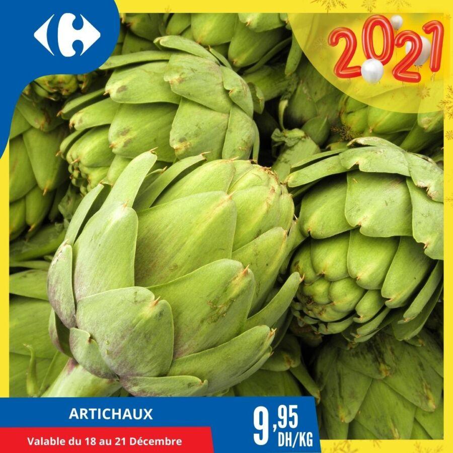 Offre Fruits et légumes de la saisons chez Carrefour Maroc du 18 au 21 Décembre 2020