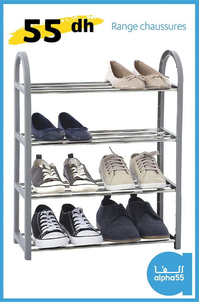 Offre Spécial chez Alpha55 Range chaussures à seulement 55Dhs