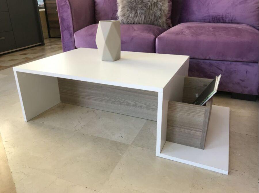 Soldes Azura Home Table basse CORDOBA 690Dhs au lieu de 790Dhs