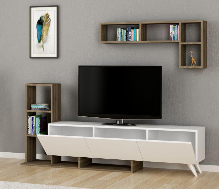 Soldes Azura Home Ensemble meuble TV SULE 1290Dhs au lieu de 1965Dhs