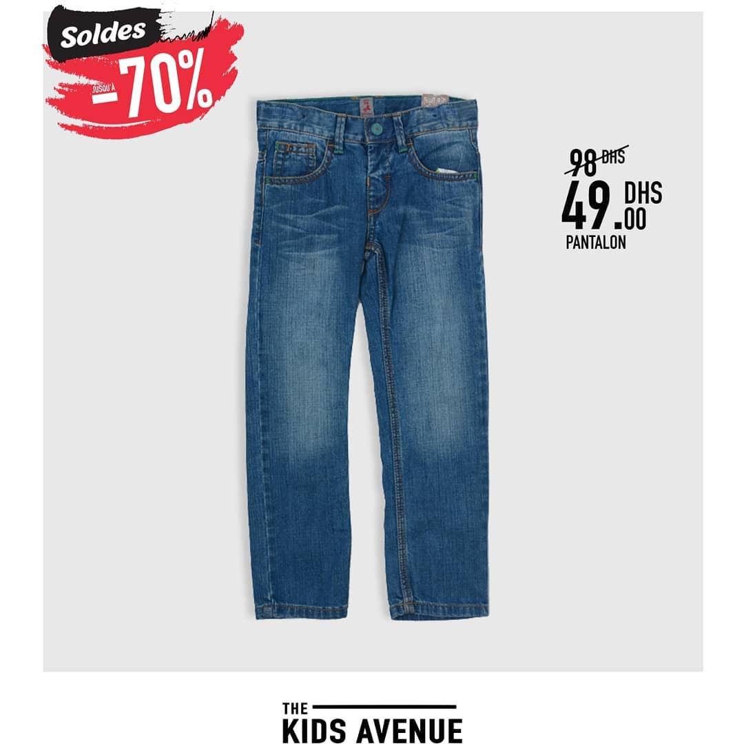 Soldes Kids Avenue chez Miro Home Pantalon pour enfant 49Dhs au lieu de 98Dhs