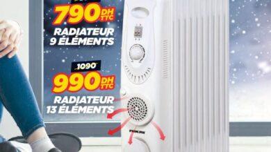 Promo Electro Bousfiha Chauffage Bain d'Huile NIKAI 790Dhs au lieu de 899Dhs