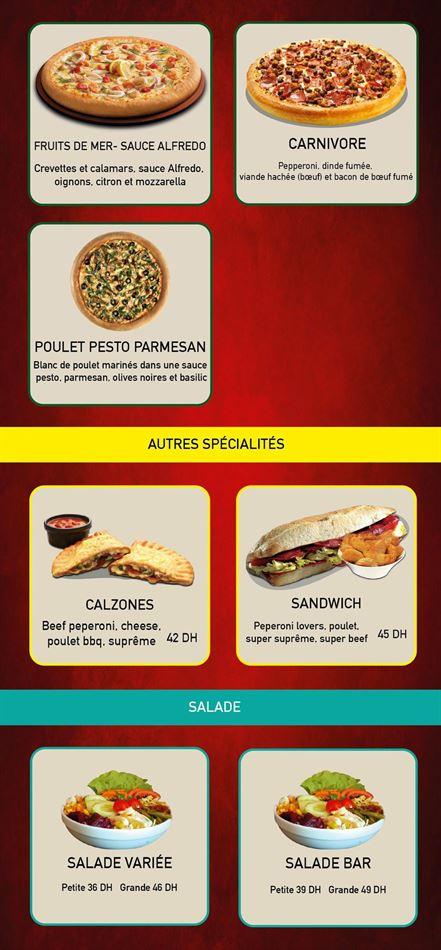 Offres Menu Pizza Hut La pair qu'il vous faut valable jusqu'au 13 mai 2021