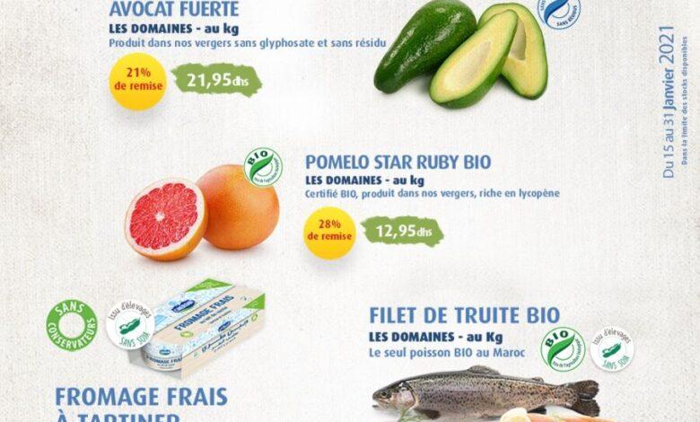 Catalogue des offres exceptionnelles Les Domaines Agricoles du 15 au 31 Janvier 2021