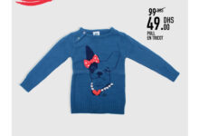 Soldes Kids Avenue chez Miro Home Pull en tricot 49Dhs au lieu de 99Dhs