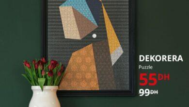 Soldes chez Ikea Maroc Puzzle DEKORERA 55 au lieu de 99Dhs