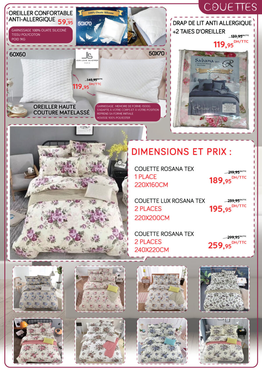 Catalogue Promotionnel Bricodéco Maroc Sélection Maison 2021
