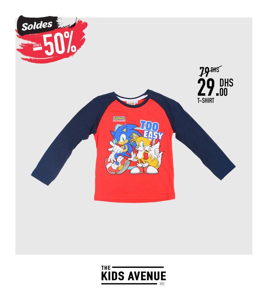 Soldes Kids Avenue chez Miro Home Sweat pour garçon 29Dhs au lieu de 79Dhs