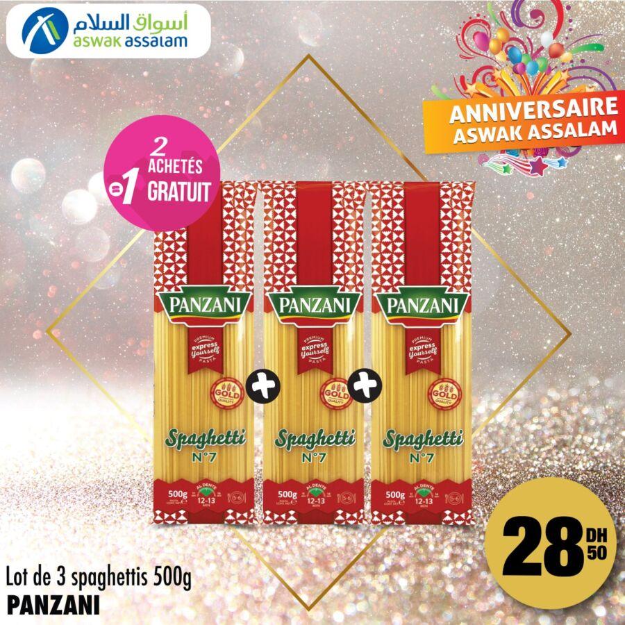 Offres Promotionnels chez Aswak Assalam Valable jusqu'au 10 Janvier 2021