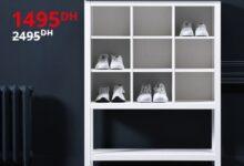 Soldes Ikea Maroc Meuble de rangement HEMNES 1495Dhs au lieu de 2495Dhs