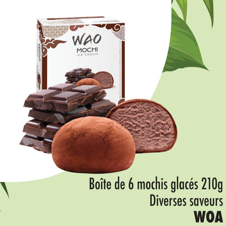 Offres chez Aswak Assalam Lot de 6 boîtes WOA mochis glacé 119Dhs