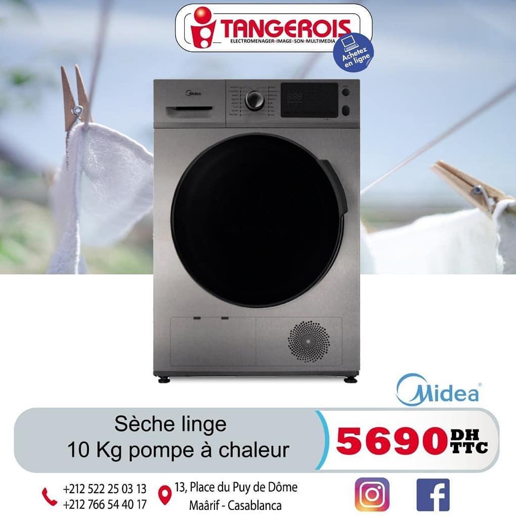 Offre Spécial chez Tangérois Electro Divers sèches linge à partir de 3890Dhs