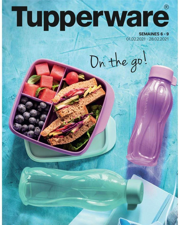 Catalogue Promotionnel Tupperware Maroc ON THE GO! Jusqu'au 28 Février 2021