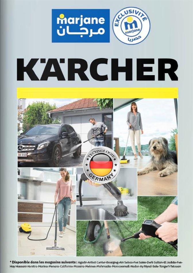Catalogue Marjane Marque KARCHER du 25 Février au 9 Mars 2021