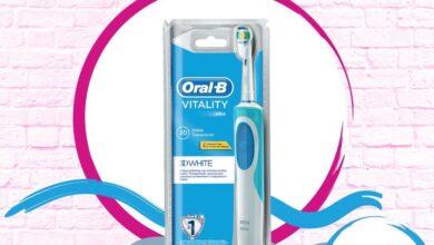Soldes Aswak Assalam Brosse à dents rechargeable ORAL-B 230Dhs au lieu de 330Dhs