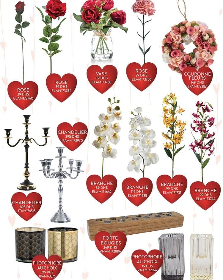 Catalogue spéciale Sélection Happy Saint Valentin Day chez Miro Home