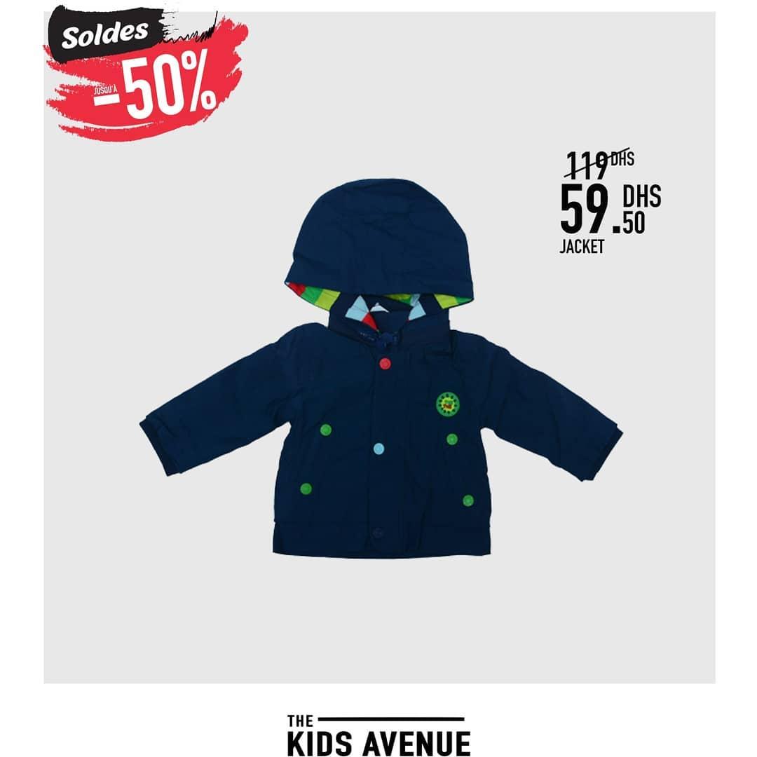 Promo Manteaux et Jackets pour enfants chez Kids Avenu -50% de réductions