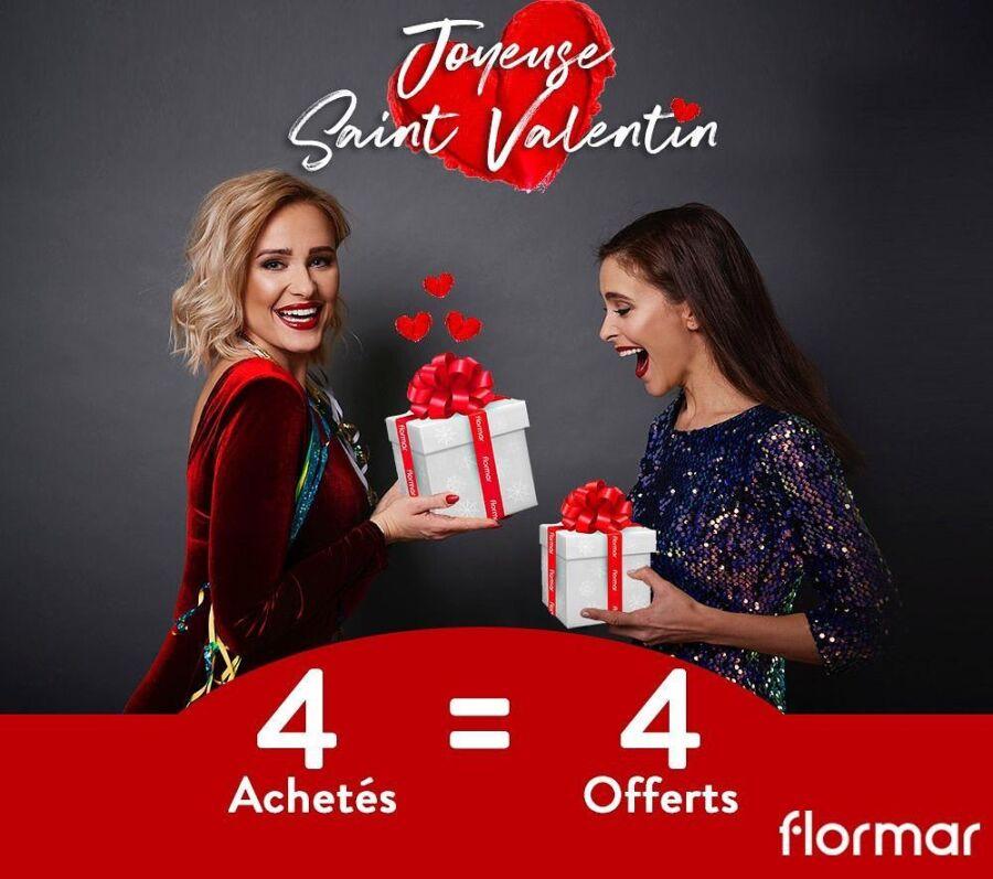 Idées cadeaux chez Flormar Maroc du Vendredi 12 au Dimanche 14 Février 2021