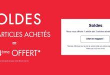 Soldes Kiabi Maroc 3 articles achetés le 4ème offert Jusqu'au 31 Mars 2021