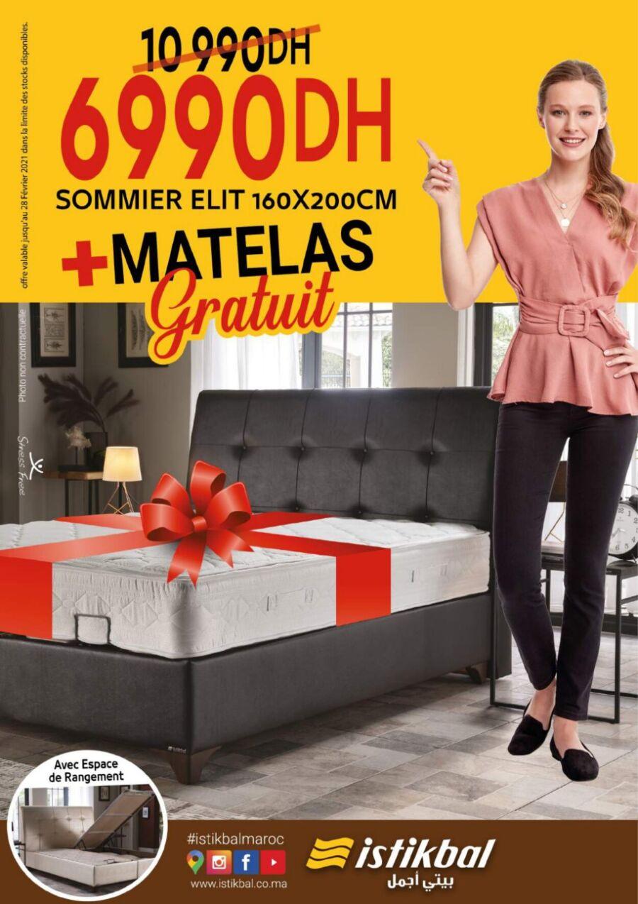 Catalogue Promotionnel Istikbal Maroc Salons & Séjours Edition 2021