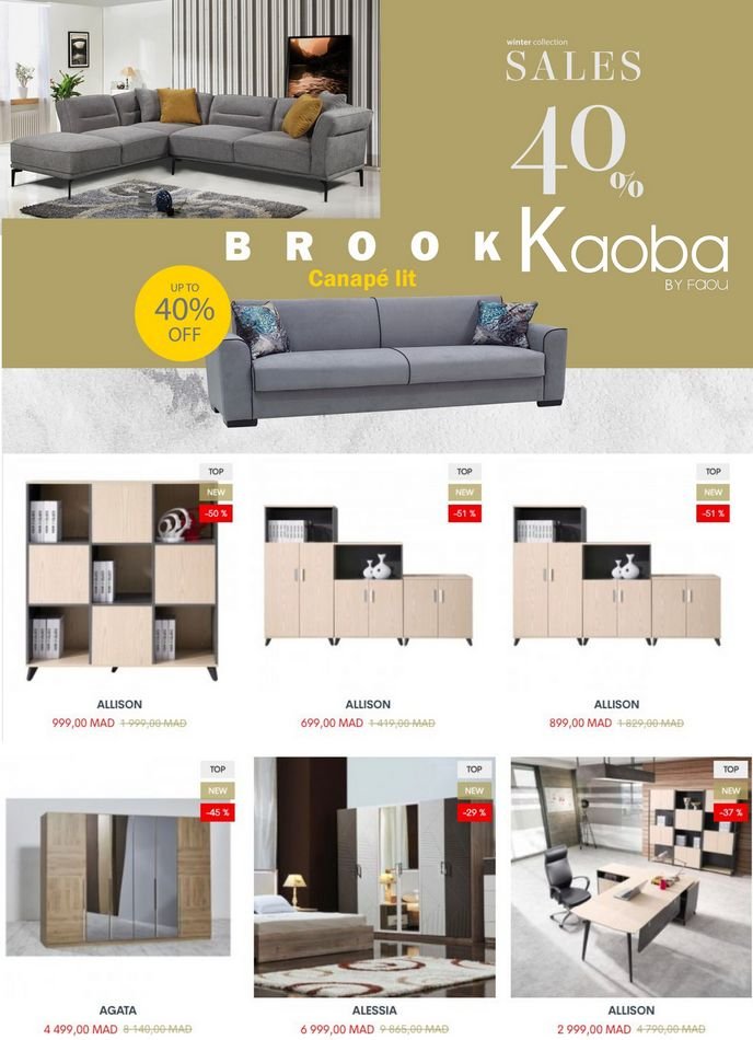 Catalogue Kaoba by FAOU WINTER Collection du 2 Mars au 16 Avril 2021