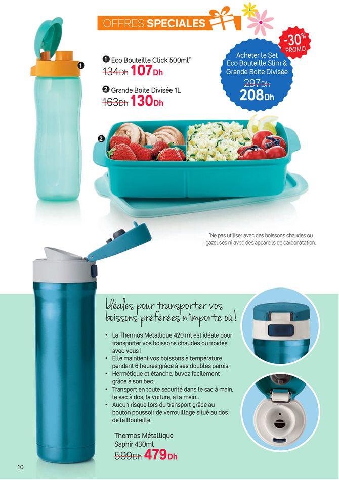 Catalogue Tupperware Maroc Préparation Ultimate du 1 au 28 Mars 2021