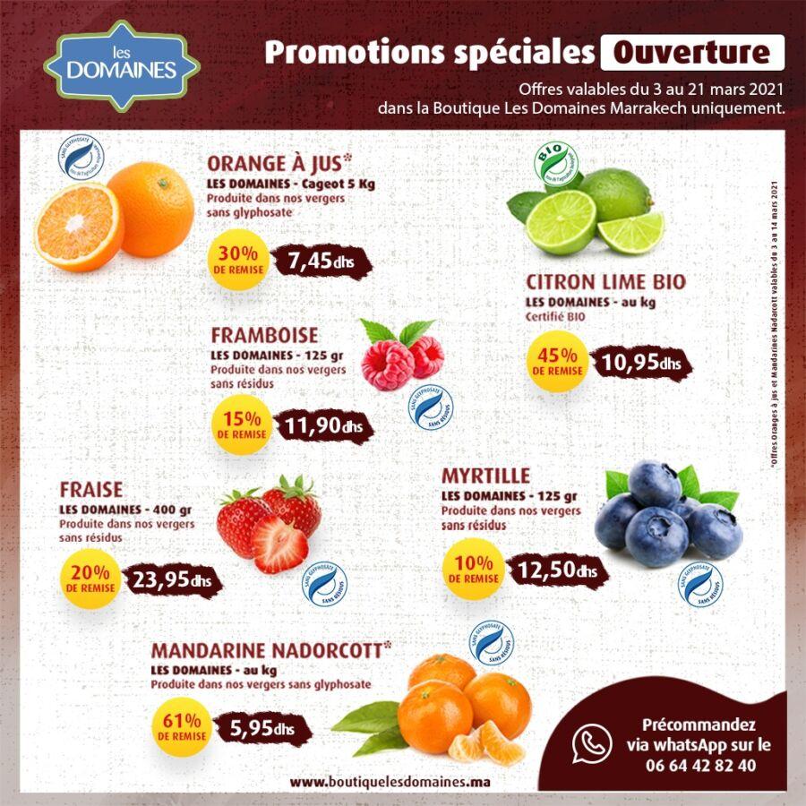 Catalogue Les Domaines Agricoles Spécial Ouverture Magasin Hivernage Marrakech