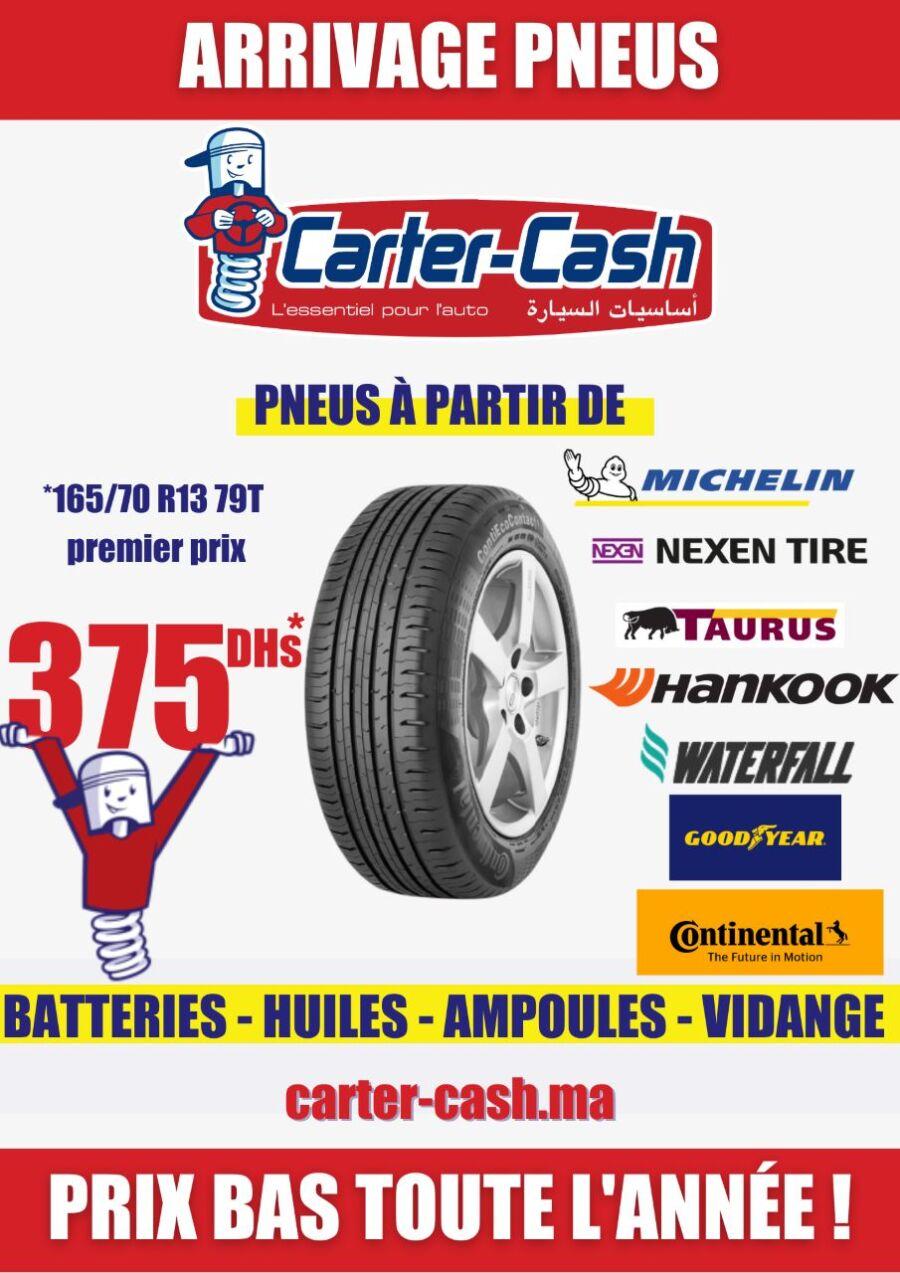 Catalogue Promotionnel Carter Cash Maroc valable Mars du 2 au 31 Mars 2021