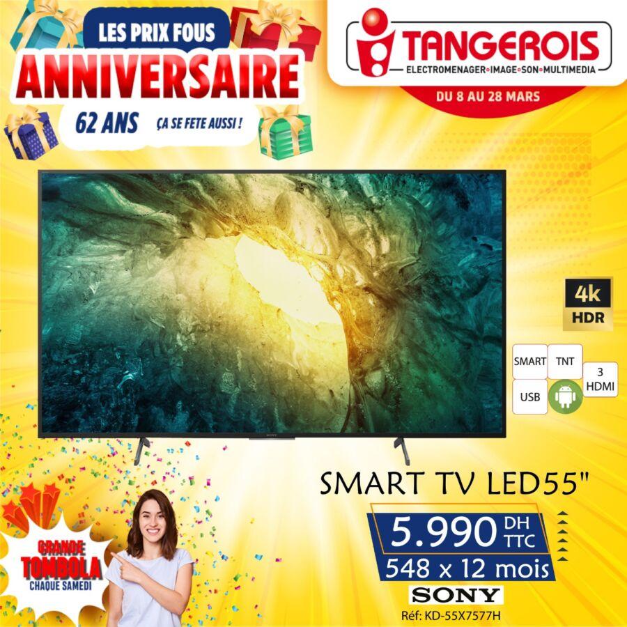 Promo spéciale anniversaire chez Tangerois Electro Jusqu'au 28 Mars 2021