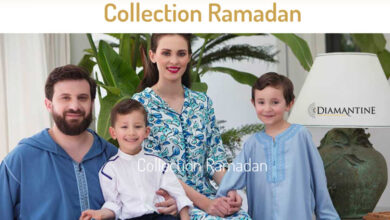 Lookbook Ramadan 2021 nouvelle Diamantine Nouvelle collection traditionnel