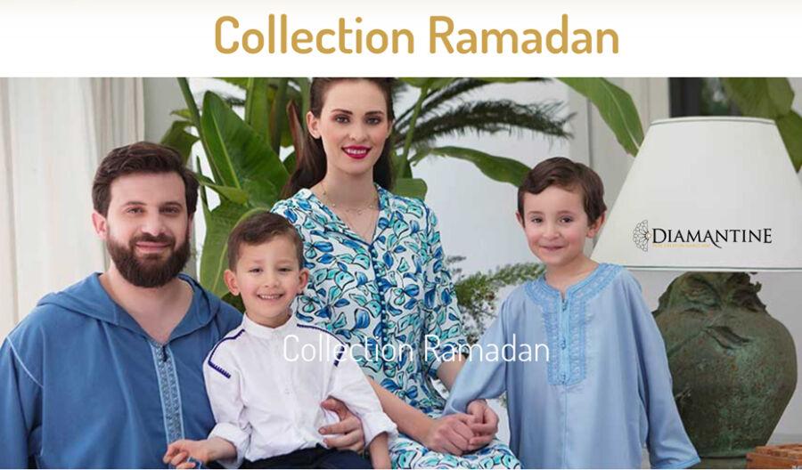 Lookbook Ramadan 2021 nouvelle Diamantine Nouvelle collection traditionnel