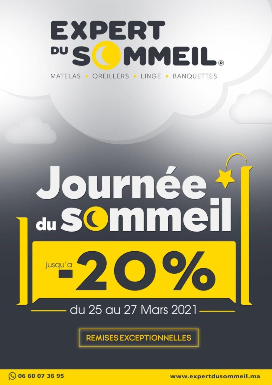 Catalogue Expert du Sommeil Journée du Sommeil 25 25 au 27 Mars 2021