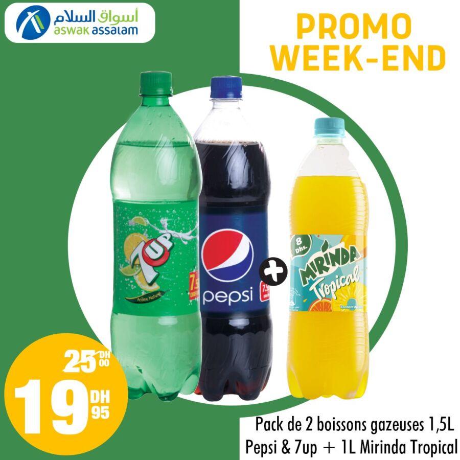 Promo du Week-End chez Aswak Assalam valable Jusqu'au 7 Mars 2021